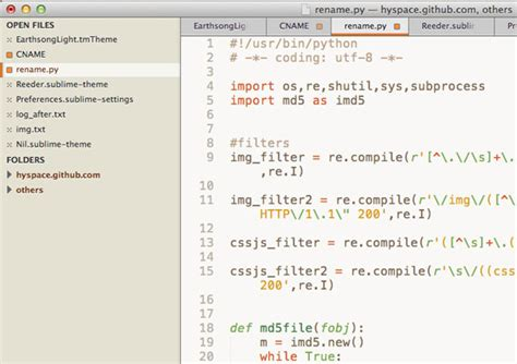 sublime text 3 reeder theme 35 cool sublime text themes designbeep