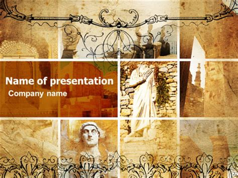 powerpoint themes rome roman architecture powerpoint template backgrounds