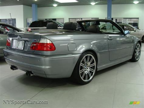 2006 bmw m3 convertible for sale 2006 bmw m3 convertible in silver grey metallic photo 4