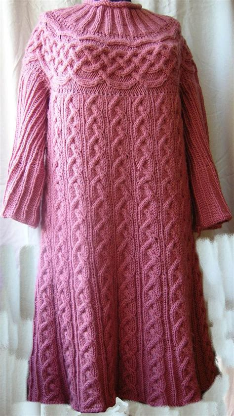 knitting scheme for cabled skirts cable tunic pattern knitted tunic dress sweater