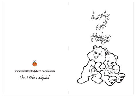 Printable Thinking Of You Card Template by Thinking Of You Coloring Cards Coloring Pages