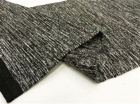 black rag rug rag rugs slite black white rag rug grey