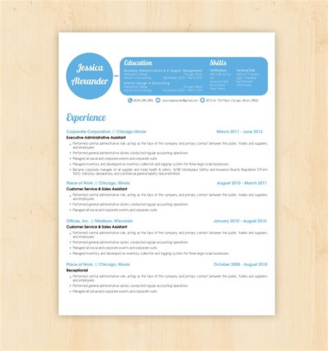 resume template word document free cv in 79 excellent