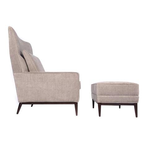 wingback chair and ottoman paul mccobb wingback chair and ottoman at 1stdibs
