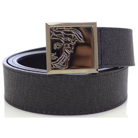 versace collection buckle leather belt versace from n22