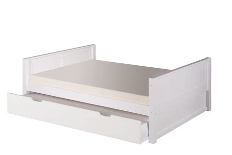 full size white platform bed full size platform bed trundle panel style white