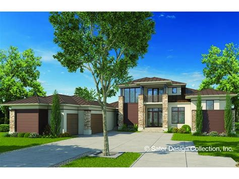 modern prairie house plans eplans contemporary modern house plan modern prairie
