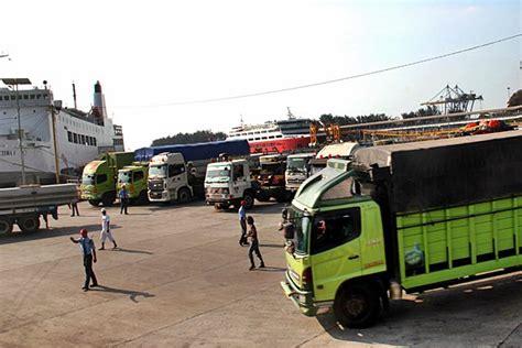 layout pelabuhan merak pengusaha truk belum lirik uji kir swasta koran bisnis com