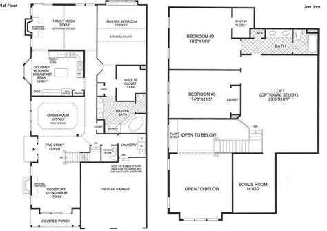 inspiring house plans with 2 master suites on floor