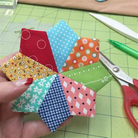 Patchwork Flowers - sew simple shapes more easy patchwork flowers bee