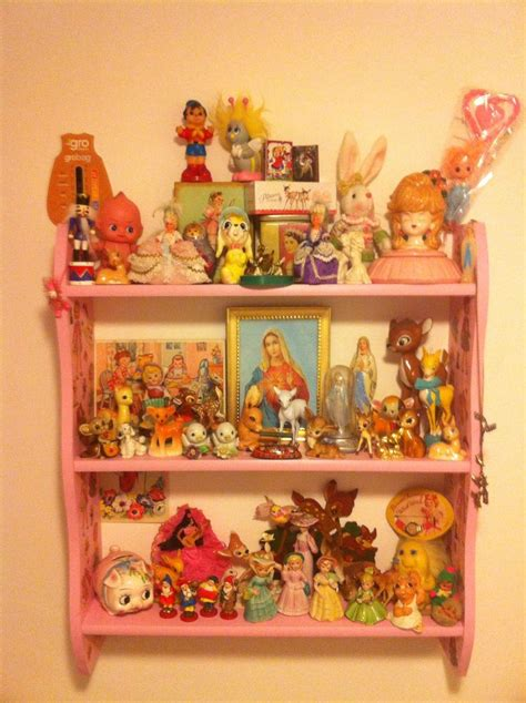 Toys Shelf by Vintage Shelf Things I Could Collect Lol