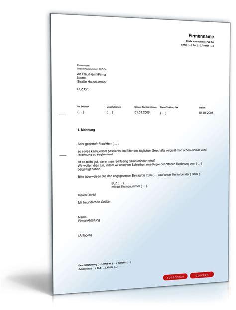 Muster Einladung Essen Zahlungserinnerung Rechtssicheres Muster F 252 R Eine Mahnung