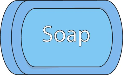 Blue And White Bathroom by Bath Soap Clip Art Bath Soap Image