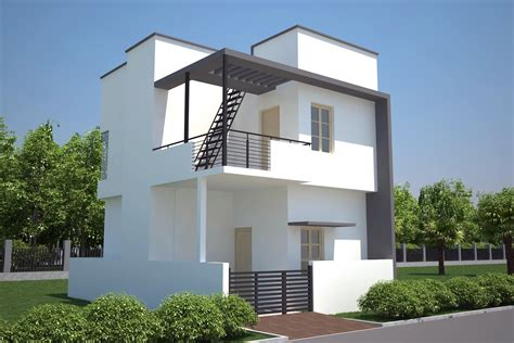 elevation house plan north facing house elevation plans single villa for 2bhk front elevation bracioroom