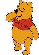 imagenes de winnie pooh pensando animated gif pooh winnie the pooh blowing a kiss photo