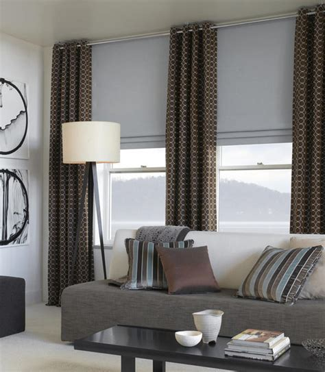 modern window coverings contemporary curtains and window treatments