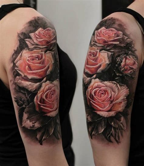 rose tattoo 3d 25 best ideas about pink tattoos on