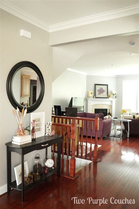 Dining Room Entryway by Updated House Tour Entryway And Dining Room Two Purple