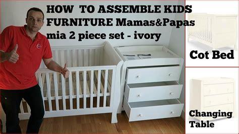 mamas papas mia 2 piece set dresser kids furniture mamas papas mia 2 piece set