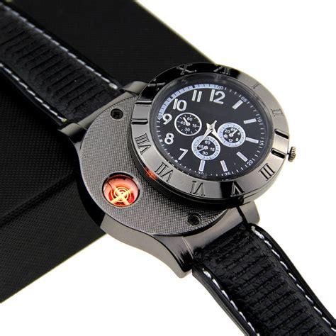 Rp 65 000 Mancis Elektrik jam tangan mancis usb black jakartanotebook
