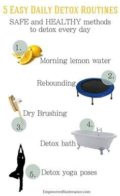 Daily Detox Meaning by Rebounding On Trolines Lymphatic System