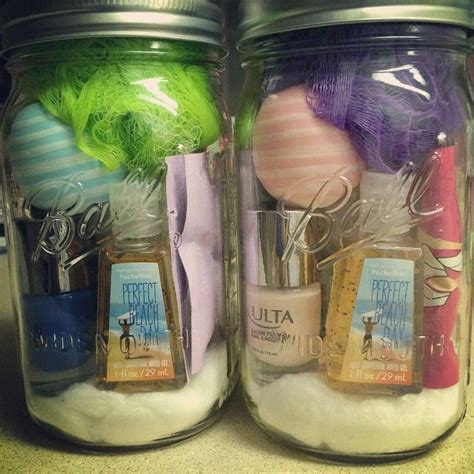gift ideas with jars 25 best ideas about spa gift baskets on spa