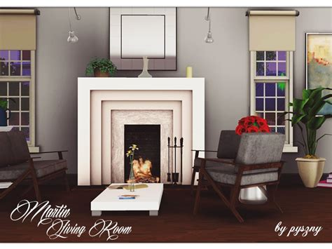 Living Room On Martin Martin Living Room By Pyszny Teh Sims