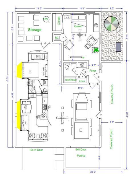 rv port home floor plans nice rv port home plans 5 rv garage that looks like a