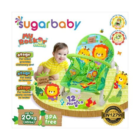 jual sugar baby my rocker 3 stages jungle baby