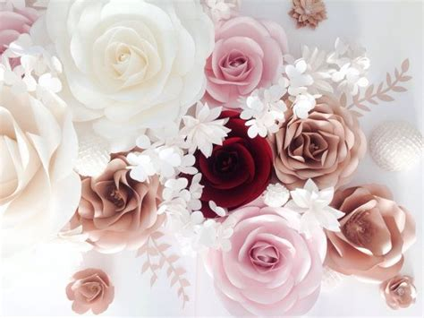 Large Wedding Flowers by 1000 Ideas About Large Paper Flowers On Paper