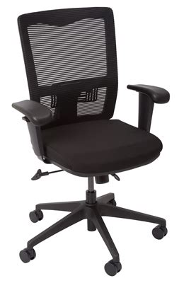 premier office furniture opd operator chair mesh back with arms black premier office furniture