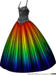 rainbow colored dresses rainbow liana s paper dolls