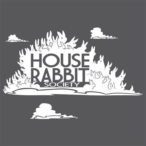 Rabbit House Society by Rabbit Ramblings Buy A T Shirt To Benefit Hrs On Sale
