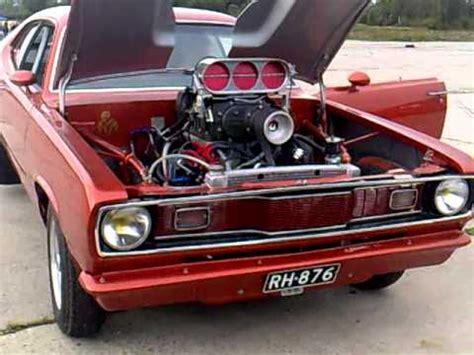 Daster Veli 70 800 hp blown plymouth duster sound
