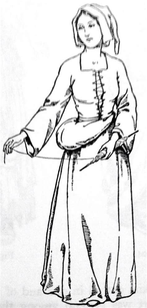 A roupa da classe baixa e média no período Tudor