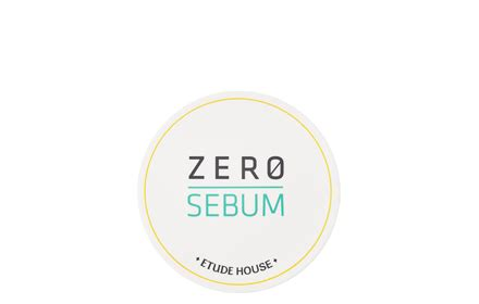 Etude House Zero Sebum Dying Powder etude house zero sebum drying powder 6g hermo shop singapore