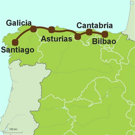 camino de santiago northern route northern spain touring holidays