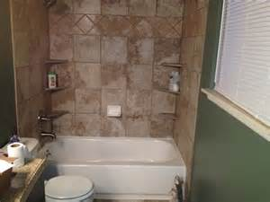84 Inch Bathtub Shower Tub Surround White Tile Advice