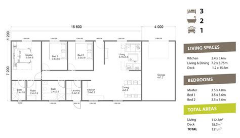 2 Bedroom Granny Flat Floor Plans by Granny Flat 141 Pacific Building Company