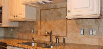 tumbled marble kitchen backsplash new jersey custom tile tumbled marble tile backsplash galleon bay pinterest