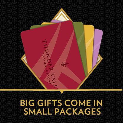 Thunder Valley Gift Card - promotions thunder valley casino resort
