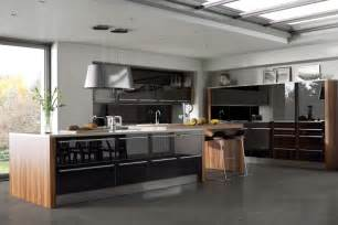black gloss kitchen ideas glossy black kitchens kitchen sourcebook