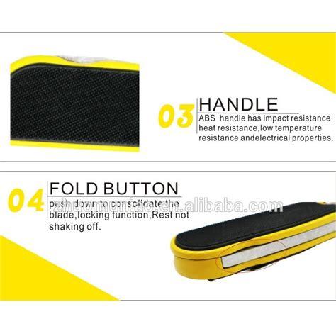 Cutter Lipat Disposable cutter lipat anti slip disposable yellow jakartanotebook