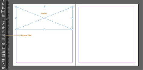 indesign frame tool indesign guides frames and image placing for wedding