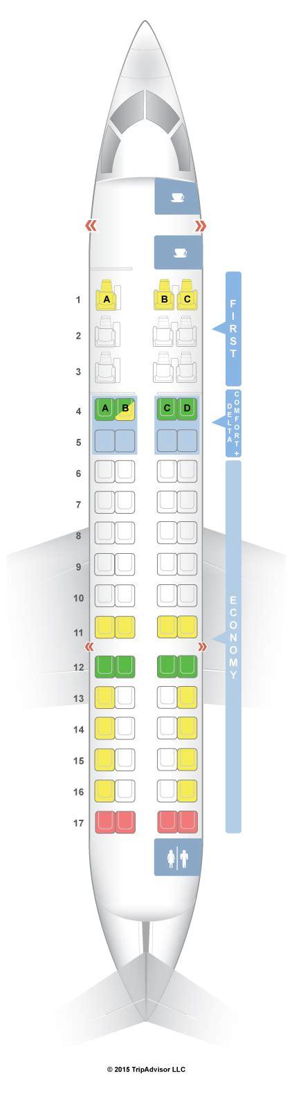 canadair regional jet seating seatguru seat map delta bombardier crj 700 cr7 v1