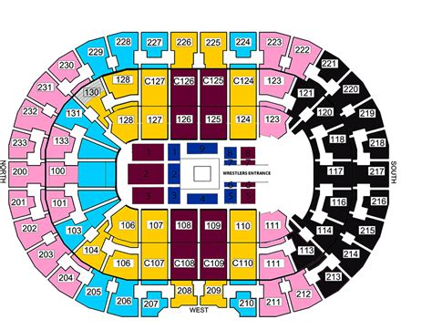 the q seating quicken loans arena cleveland oh seating chart view