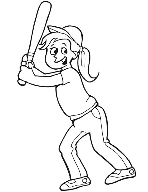 Baseball Player Coloring Page baseball player coloring page az coloring pages