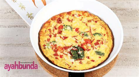resep membuat omelet brokoli omelet nasi brokoli