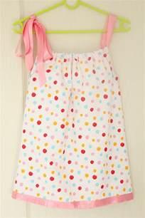 basic pillowcase dress sewing tutorial for beginners