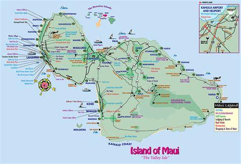 printable road to hana map maps